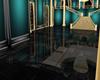 teal/gold/blk ballroom