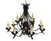 midevil chandelier