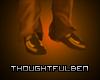 TB Gold Suit Shoes 2