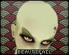 [B] Bald Head / No Hair