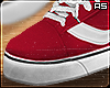 Skate Canvas Shoes Red