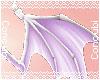 Demon Hip Wings |Lilac