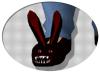 monster bunny slippers