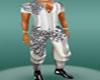 white silk blk-web--shor