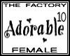 TF Adorable Avi 10 Tall