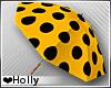 Yello Polka dot Umbrella