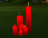 Red Candles Romantic