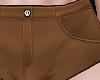 B! FMB Brown Shorts LYR