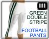 [IE]Green Football Pants