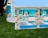 blue wedding room