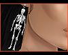 WxR skeleton earring L