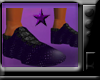 *gangster purple shoes