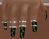 Nails Weed + Rings