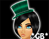 Green Magic Cosplay Hat