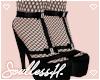 fae black heels