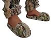 Wild Life Camo Slippers