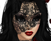 ~k Black Lace Veil