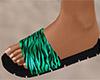 Tiger Stripe Sandals (F)
