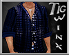 TWx:Blue Button Down