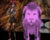 (L)Full Pink Lion