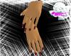 *mc* red Star Nails