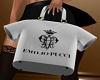EmPuCi Tshirt Bag white