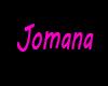 Jomana HeadSign