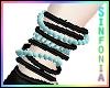 Black Turquoise Bracelet