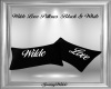 Wilde Love PIllows B&W