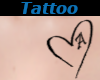 Tattoo Chest A Heart