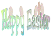 Happy Easter 3D Sign