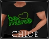Be Mine Green Top M