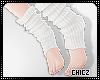Cz!White Socks