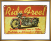 Ride Free Wall Hanging