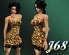 J68 Jillian Dres Leopard