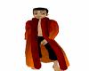 Orange/Red Fur Coat