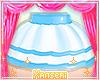 ! Light Blue Layer Skirt