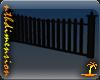 Picket Fence - Black Oak