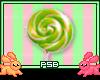 Green Candy Sucker