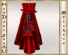 Red Rose Curtain