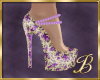 Purple Roses Shoes