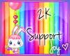 2k Support Sticker
