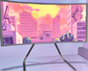 Aesthetic TV Curved