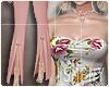 [Is] Floral Suit Pink