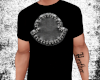 Black Moncler Logo Tee