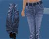 Blue couple jeans F