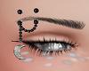 moon eyebrow rings
