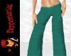 Silk Pants GREEN