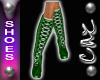 |CAZ| Xmas Boots Green
