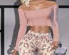 LA~Pink Top~
